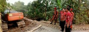 Peninjauan Pembangunan Jembatan Desa Astapada